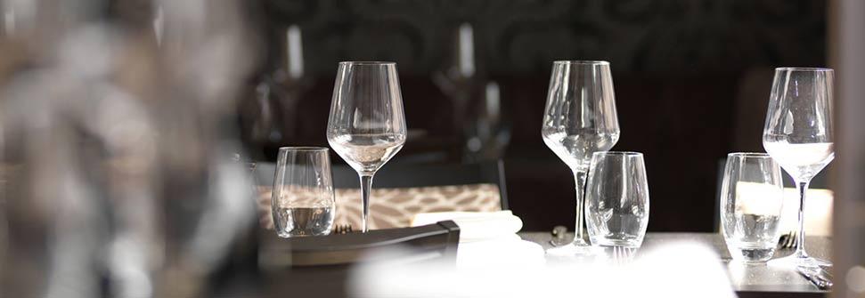 Plastic wijnglazen