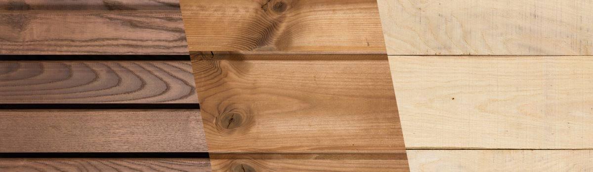 Hardhout en naaldhout