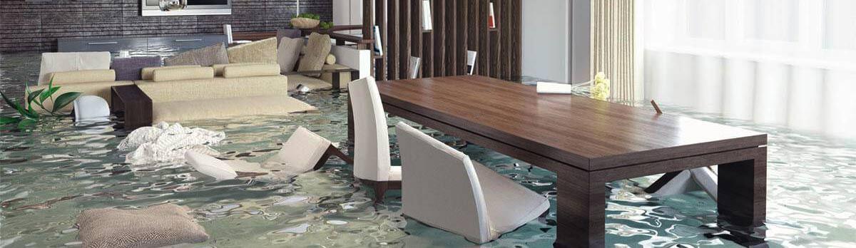 Waterschade houten vloer